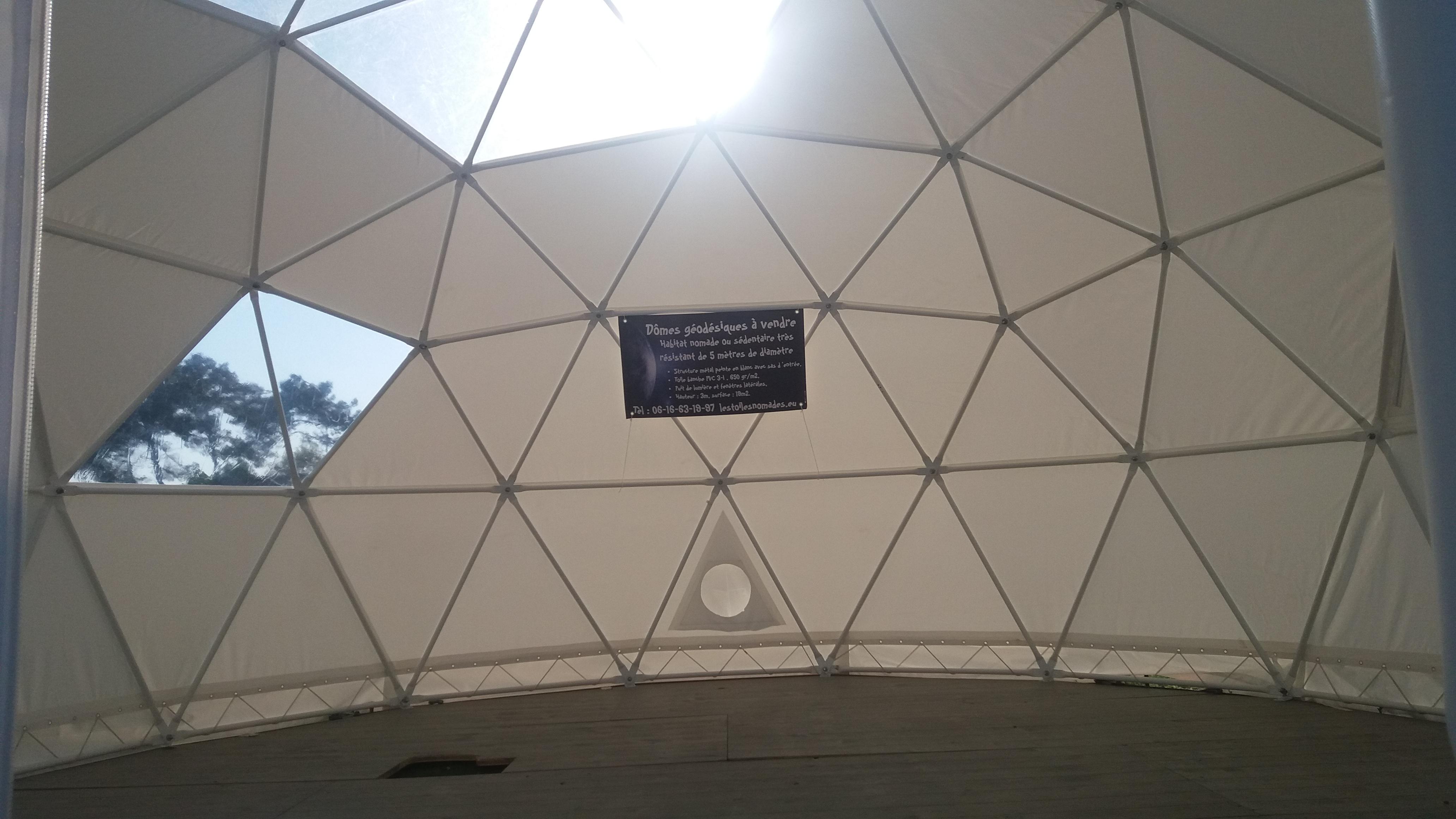 l'intérieur des dômes