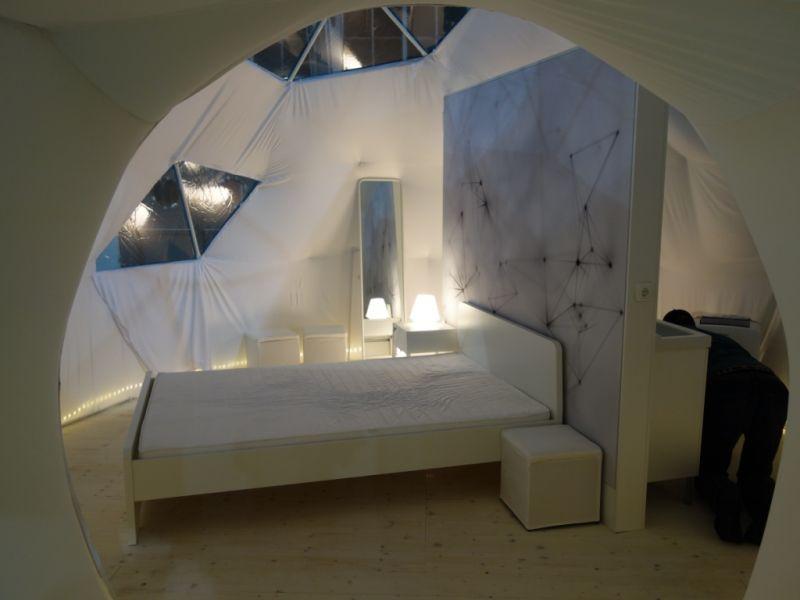 interieur dome aménagé